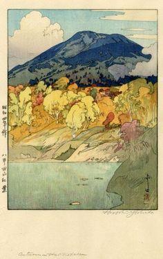 Autumn In Hakkodasan ~ Hiroshi Yoshida