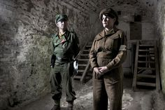 WW2 Living History portraits by Russell Cobb a multi award winning artist illustrator who has photographed reenactors from UK Groups: Panzer Lehr, KSK, Das Reich and Battle4Europemembers at Paddock Wood, Dover Castle, Kelvedon Hatch, GCR Railway Leicester and Waltham Abbey. Here ordinary people have transformed themselves to a parallel universe where time has stood still and history and its people are remembered.