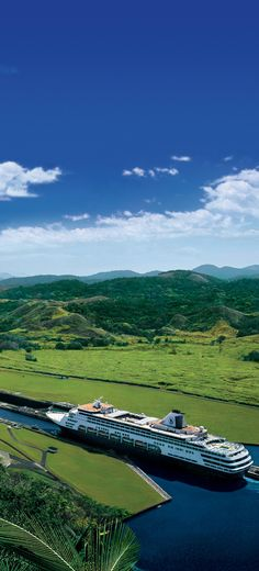 Cruise from ocean to ocean on the Panama Canal.