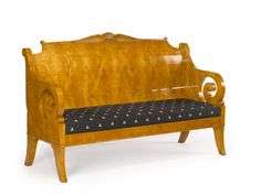 Russian biedermeier bench. Not my style but incredible craftsmanship.