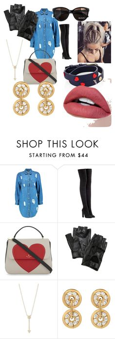 """Untitled #1"" by juliafomina ❤ liked on Polyvore featuring Boohoo, adidas Originals, Kate Spade, Max&Co., Carolina Amato, EF Collection and Tory Burch"