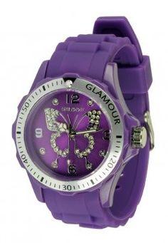 purple butterfly watch