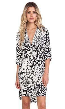 Diane von Furstenberg Prita Wrap Shirt Dress