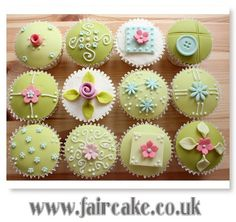 Vintage Chic Cupcakes | Flickr - Photo Sharing!