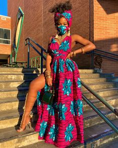 Latest and Trendiest Ankara Styles for Celebrities African Fashion Ankara, African Inspired Fashion, Latest African Fashion Dresses, African Print Fashion, Africa Fashion, African Prints, African Fabric, African Prom Dresses, African Dresses For Women