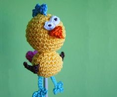 Crazy Chick - Free crochet pattern