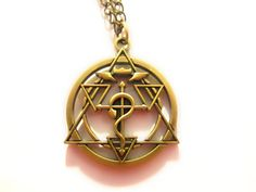 The Fullmetal Alchemist Necklace I want it!