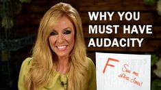 Why You Must Have Audacity Great Speakers, Teaching Style, Let God, Gods Promises, You Must, Must Haves, Success, Let It Be, Humor