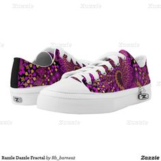 Razzle Dazzle Fractal Printed Shoes