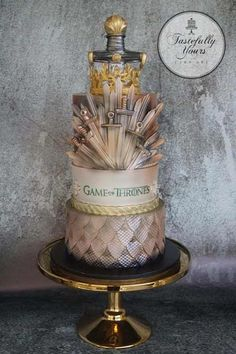 game of thrones wedding cake torten f r anl sse. Black Bedroom Furniture Sets. Home Design Ideas