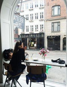 coffee break at Atelier September, Gothersgade, Copenhagen Café Bar, Foto Fashion, Fashion News, Adventure Is Out There, Coffee Break, Coffee Time, Morning Coffee, The Places Youll Go, Cities