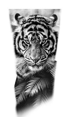 Tiger Tattoo Design, Tattoo Designs, Pumas, Desenho Tattoo, Animal Tattoos, Archery, Tattoo Drawings, Hand Tattoos, Old School