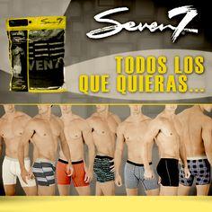 Esto es de nuestra línea #Seven7. Los undies más básicos en presentación 2PACK.