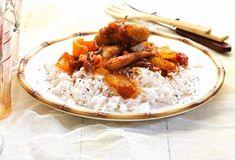Γλυκόξινο κοτόπουλο με ρύζι μπασμάτι-featured_image Food Categories, Chinese Food, Cake Recipes, Recipies, Rice, Cooking Recipes, Dishes, Oriental, Cooking Food