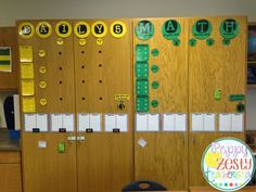 Math Rotations AND Daily Five made easy! Check out this detailed classroom management system!