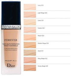 Christian Dior Diorskin Forever Flawless Perfection Fusion Wear Makeup (new - 2011 version) reviews - Makeupalley