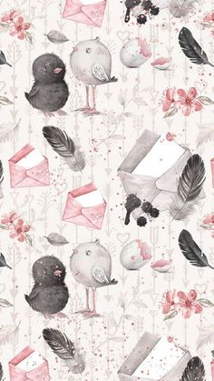 Bird illustration pattern ideas ideas Informations About Bird illustration pattern ideas 5 Bird Wallpaper, Print Wallpaper, Screen Wallpaper, Pattern Wallpaper, Galaxy Wallpaper, Bird Patterns, Print Patterns, Pattern Print, Pattern Ideas