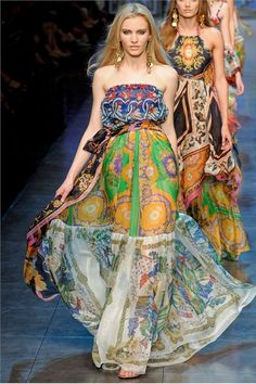 Gorgeous D&G maxi dress