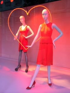 """Windows"" by Jake at Macy's NYC, ""Follow Your Heart"", pinned by Ton van der Veer"