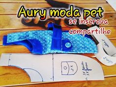 LUCRAR COM ROUPAS PETS FICOU FÁCIL: como fazer roupa para pets... modelagem - YouTube