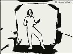 """Mario Strack -  """"E-Motion 4"""" 2002 limited Fine Art Print original graphic - www.universal-arts.de"""