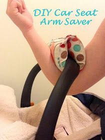 A Little Bolt of Life: DIY Car Seat Arm Saver