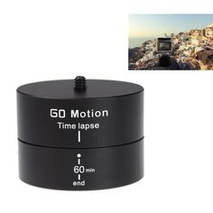 360 Degrees Panning Stabilizer Rotating Tripod Adapter For Gopro XiaoMi Yi SJ4000 SJ5000