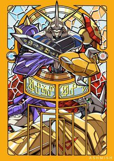 Victim of Knight Unryuuji's Laugh Bd Comics, Anime Comics, Pokemon Vs Digimon, Digimon Crests, Pokemon Cards, Digimon Tattoo, Anime Manga, Anime Art, Digimon Wallpaper