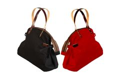 Mist Shoulder Bags For Girls in Black & Red From YOLO
