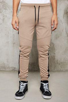 Pants Color-Block