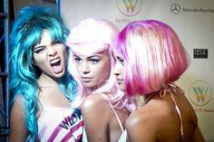 #Wildfox #Swim #Models #Backstage #MBFWSwim #Wigs #Hipster #Fun #Fashion #Style #Runway #SwimWeek2013