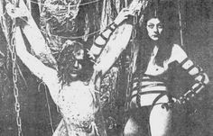 Coum Transmission show (Genesis P-Orridge and Cosey Fanni Tutti , Throbbing Gristle)
