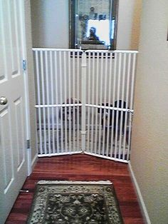 "tall pet door Cat Gate 72"" high Fur Babies"