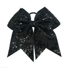 Midnight Sparkle Bow