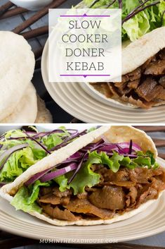 A homemade version of your favourite Lamb Doner Kebab! Tastes remarkably similar to the doner kebab meat from your favourite takeaway and even better this is cooked in the slow cooker and is perfect for Slimming World. A perfect doner kebab fakeaway. Slimming World Kebab, Slow Cooker Slimming World, Slimming World Recipes Syn Free, Slimming World Fakeaway, Kebab Recipes, Beef Recipes, Meat Appetizers, Healthy Recipes