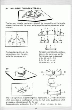 Pop up! a manual of paper mechanisms - duncan birmingham (tarquin books) [popup, papercraft, paper engineering, movable bo. Pop Up Art, Arte Pop Up, Kirigami, Casa Pop, Book Libros, Art Zine, Tarjetas Pop Up, Paper Engineering, Up Book