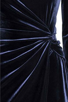 Vestido drapeado - Azul oscuro - MUJER   H&M ES