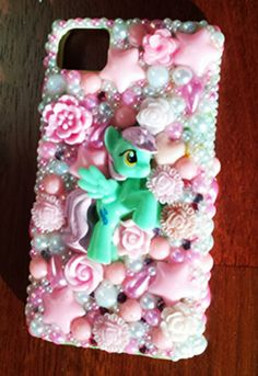 Decoden My Little Pony 'Tropical Storm' iPhone 5 Phone Case Mint green and pink