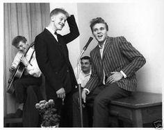 Billy Fury with Joe Brown