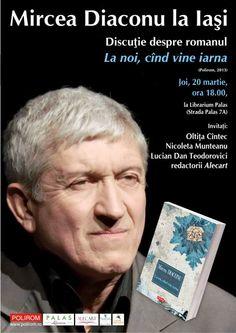Intalnire cu actorul si scriitorul Mircea Diaconu la Librarium Palas Iasi | iasifun.ziaruldeiasi.ro