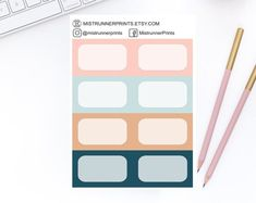 Stylish and Elegant Planner Stickers by MistrunnerPrints Planner Stickers, Personal Planners, Mini Hands, Weekly Planner, How To Draw Hands, Etsy Seller, Icons, Erin Condren, Travelers Notebook