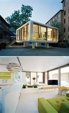 I want to do a Loftcube studio. Loftcube by Werner Aisslinger.