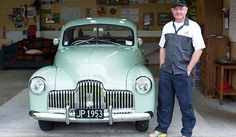 Holden 1953 FX ute owned by Mark Grey in NZ