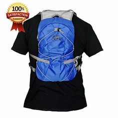 Hydration Backpack 1.5L Water Bladder Cycling Running Hiking Pack. Fits Men Women Children. (Blue) * Check this awesome product by going to the link at the image.