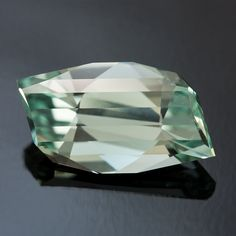 Wintermint - A New Gemstone Design by Jeffrey Hunt in Afghan Tourmaline • 3.15 carats •