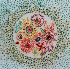 alisonglass — Flowers Embroidery Pattern