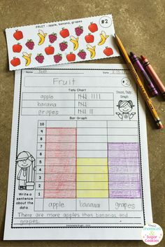 This easy to set up station provides students with a fun way to practice gathering, organizing and interpreting data.