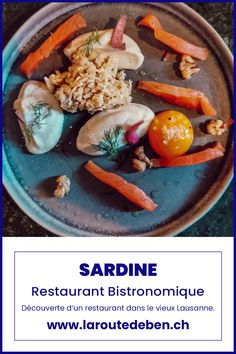Sardine est un restaurant bistronomique situé dans le vieux Lausanne. Avec des produits frais et fait maison, il saura régaler les plus gourmands. #lausanne #bistronomique #suisse #restaurant Lausanne, Restaurant, Tacos, Ethnic Recipes, Food, Snap Peas, Switzerland, Fresh, Homemade