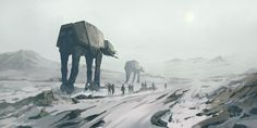 Star Wars - Hoth by QuintusCassius on DeviantArt