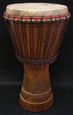 djembé en iroko de cote d'ivoire